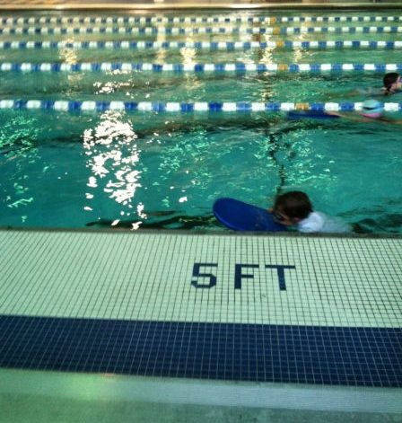 boy swimming never give up--www.thethreeyearexperiment.com