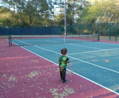 tennis court budgeting -- thethreeyearexperiment.com