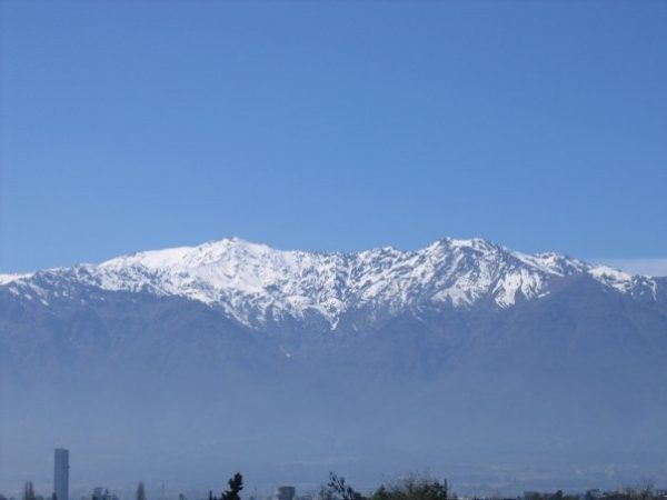 Andes in Santiago, Chile--www.thethreeyearexperiment.com