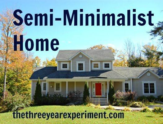 Semi-minimalist home--www.thethreeyearexperiment.com