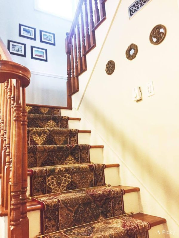 Minimalist stairs -- thethreeyearexperiment.com