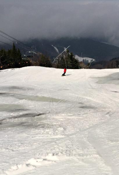 slushy ski fun--www.thethreeyearexperiment.com