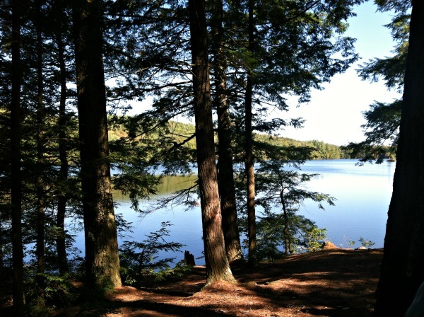 New Hampshire lakes--www.thethreeyearexperiment.com