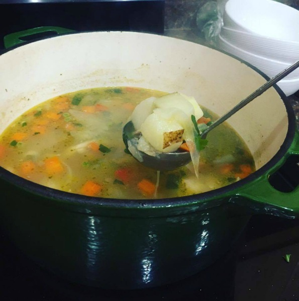 chicken soup--www.thethreeyearexperiment.com