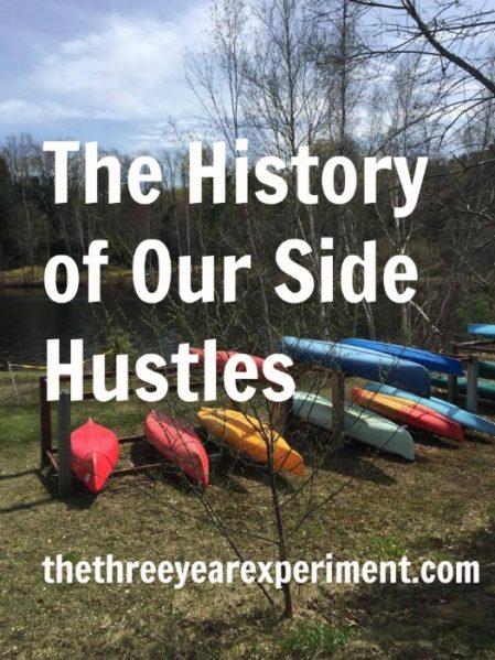 Side Hustles--www.thethreeyearexperiment.com
