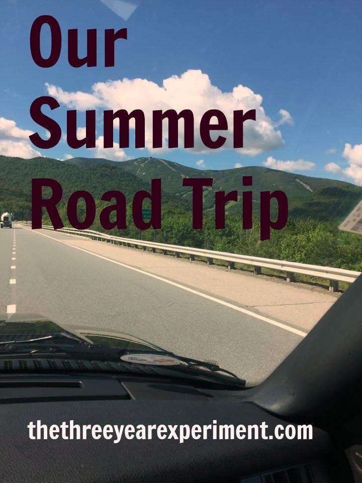 Summer Road Trip--www.thethreeyearexperiment.com