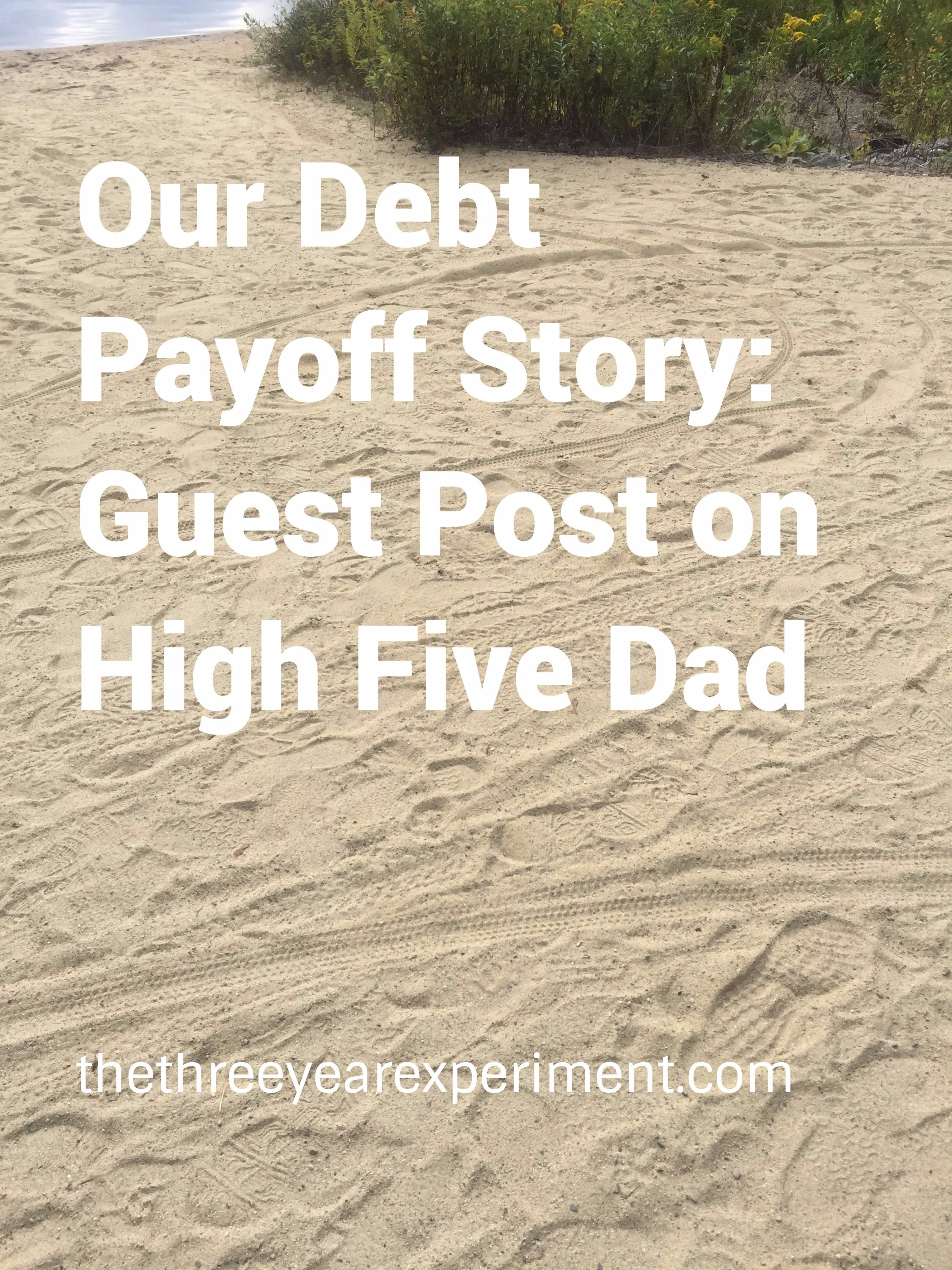 Our Debt Payoff Story--www.thethreeyearexperiment.com