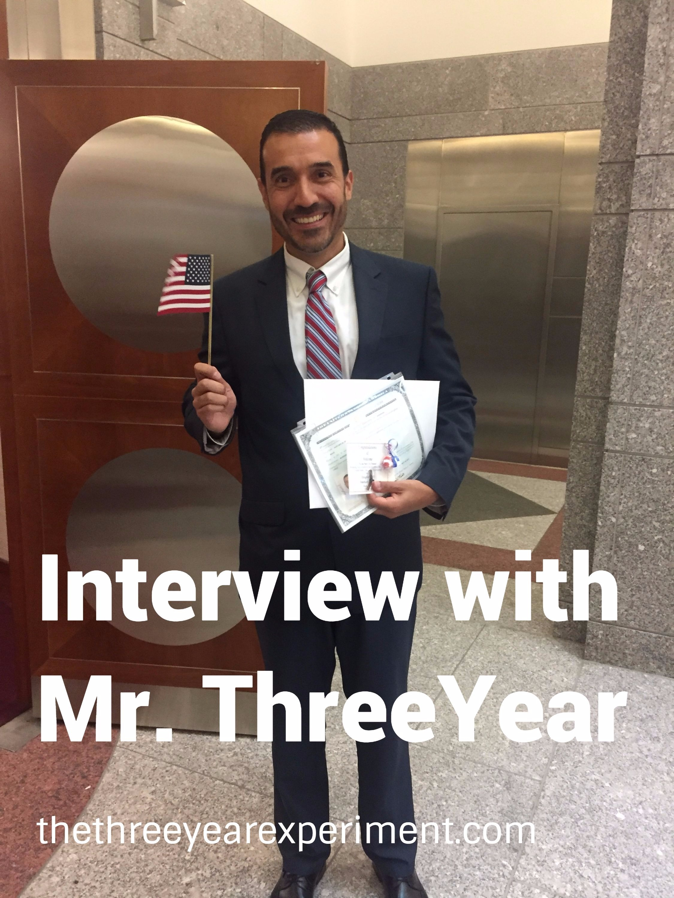 Interview with Mr. ThreeYear