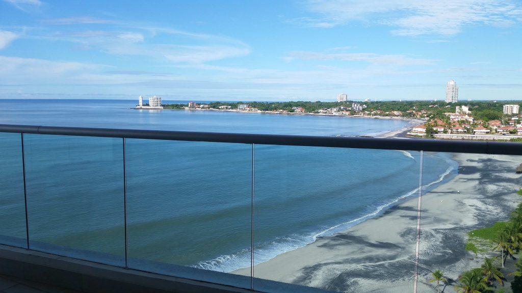 Beachfront property in Nueva Gorgona--www.thethreeyearexperiment.com