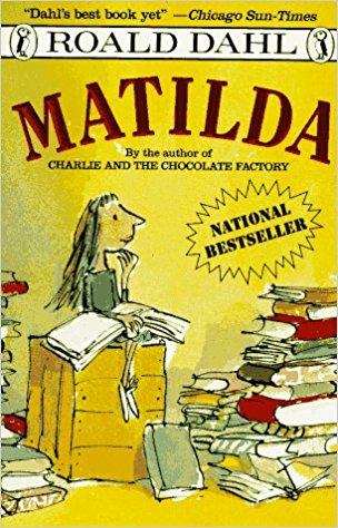 Matilda book--www.thethreeyearexperiment.com