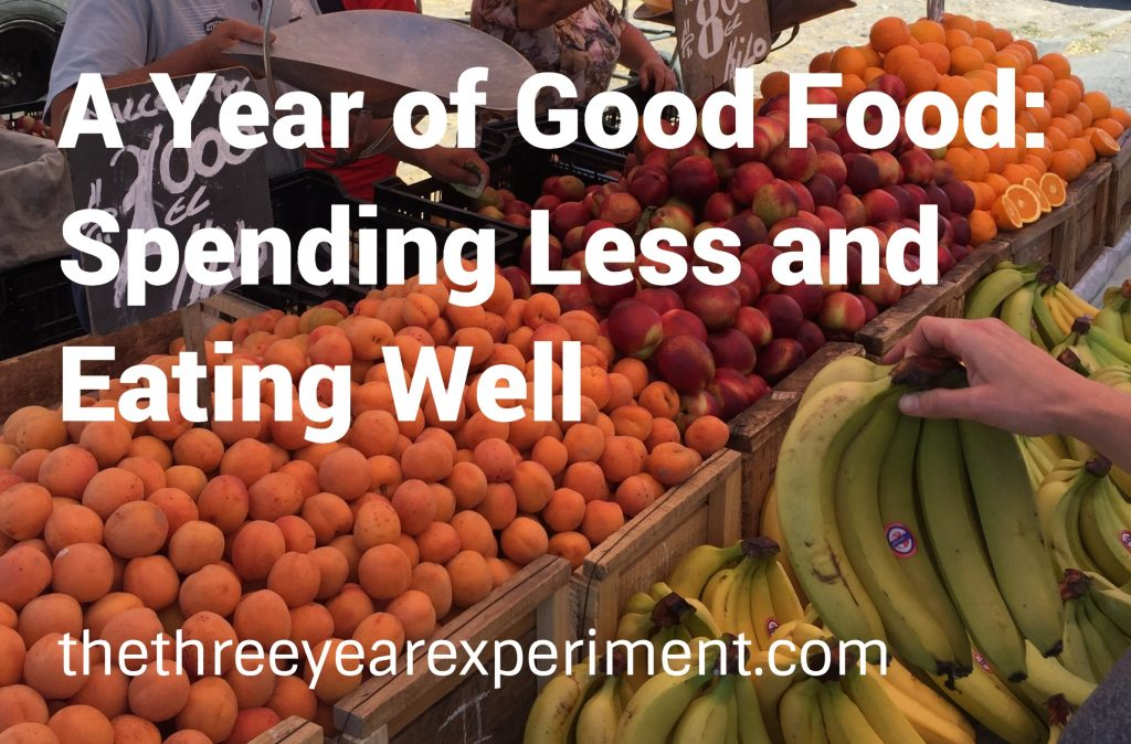Year of Good Food--www.thethreeyearexperiment.com