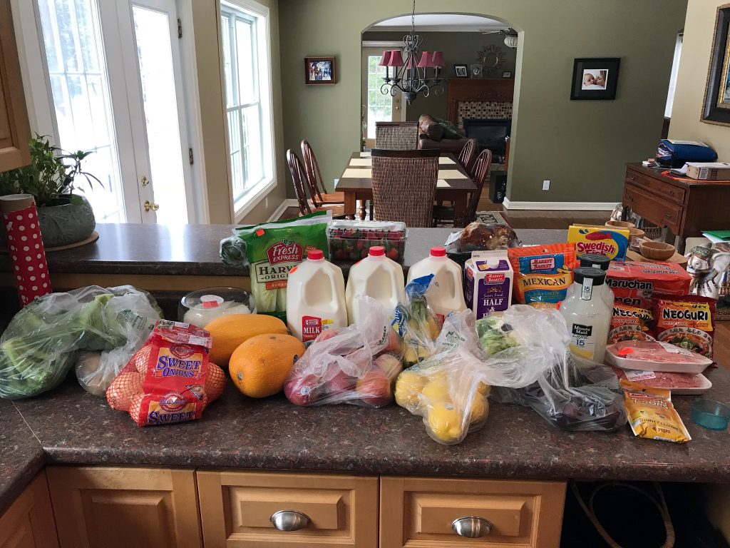 Week 3 Groceries--www.thethreeyearexperiment.com