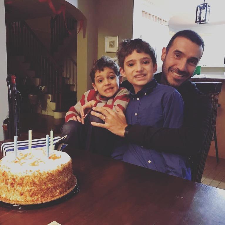 birthday cake--www.thethreeyearexperiment.com
