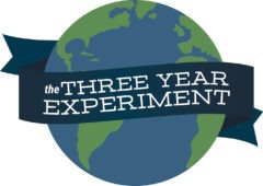 THE THREE YEAR EXPERIMENT