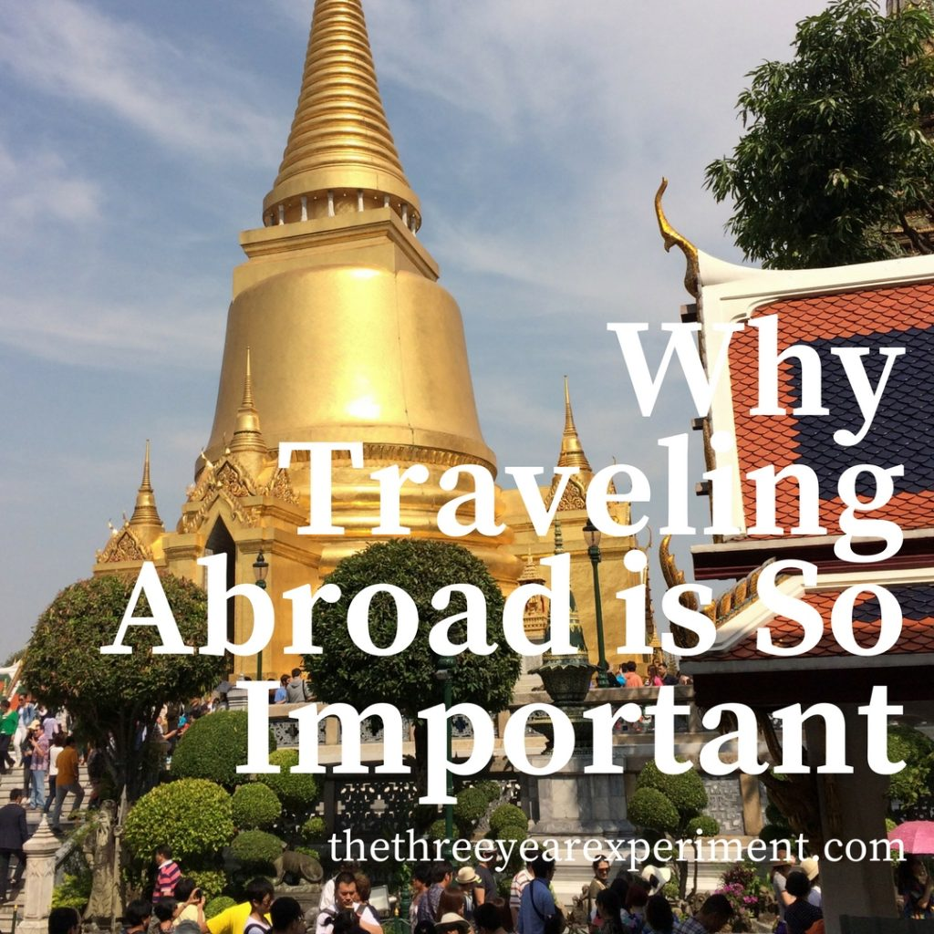Stupa Bangkok Thailand Travel Abroad www.thethreeyearexperiment.com