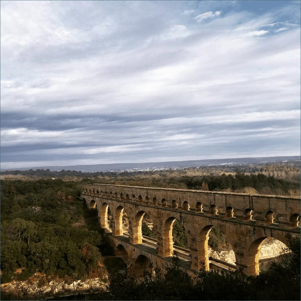 Pont du Gard--www.thethreeyearexperiment.com