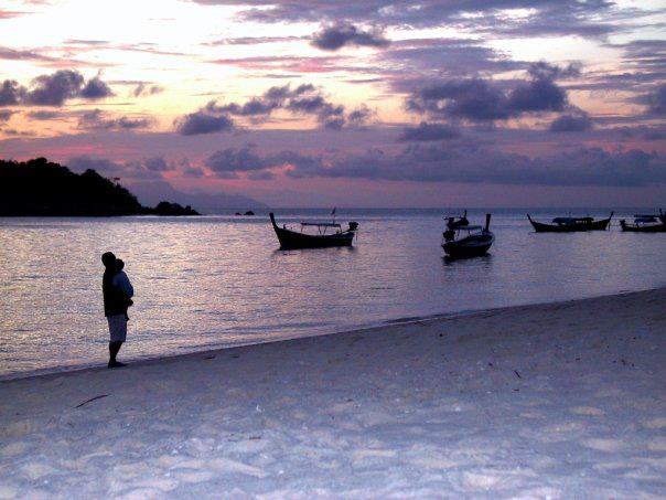 Ko Lipe Thailand lake and boats www.thethreeyearexperiment.com