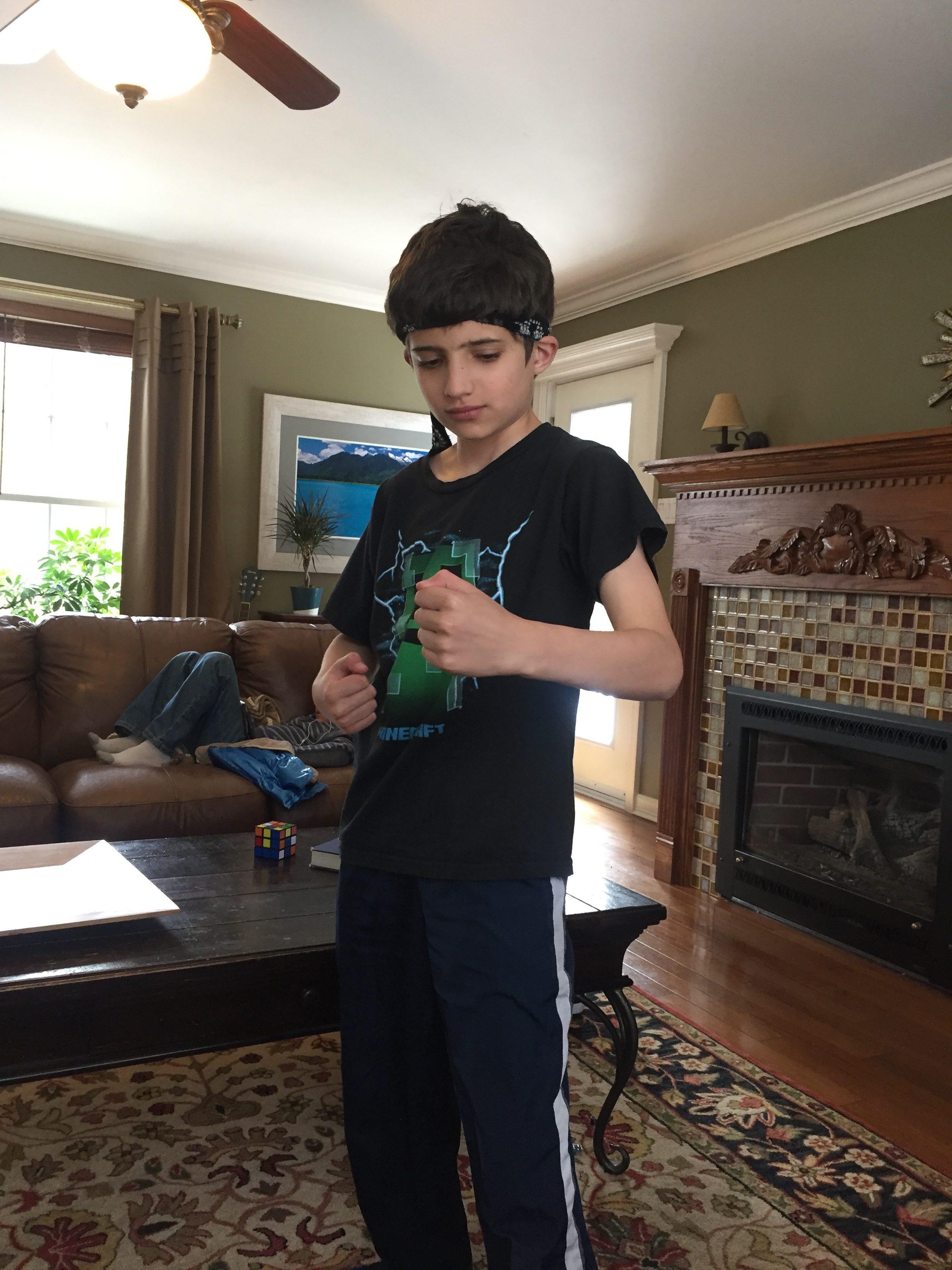 Karate kid www.thethreeyearexperiment.com