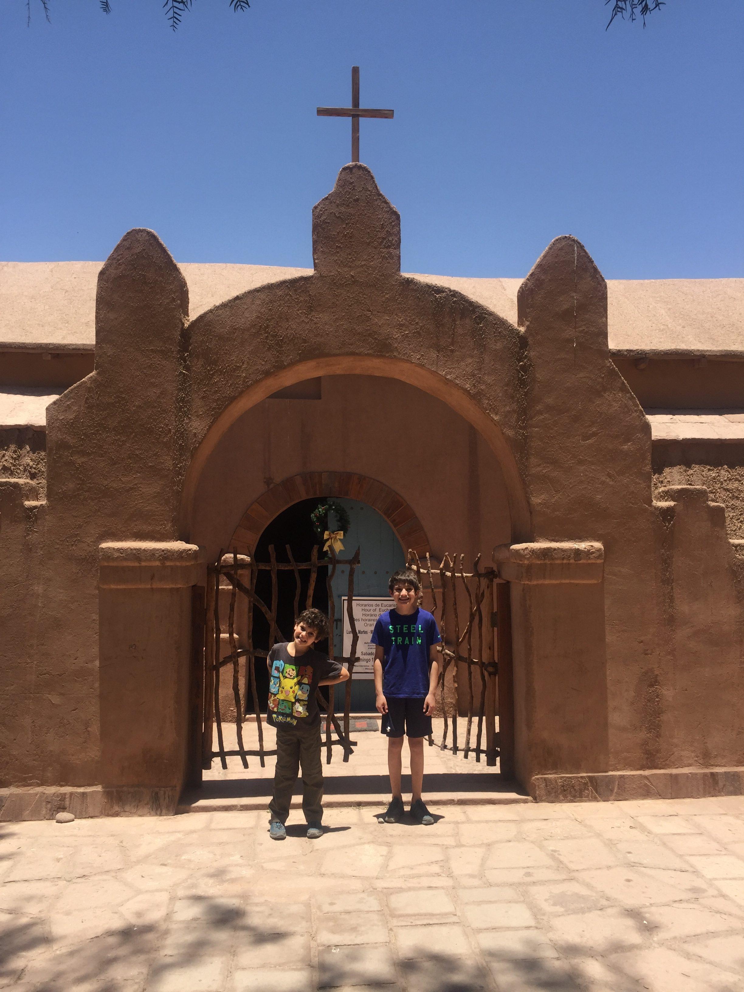 San Pedro de Atacama kids church www.thethreeyearexperiment.com