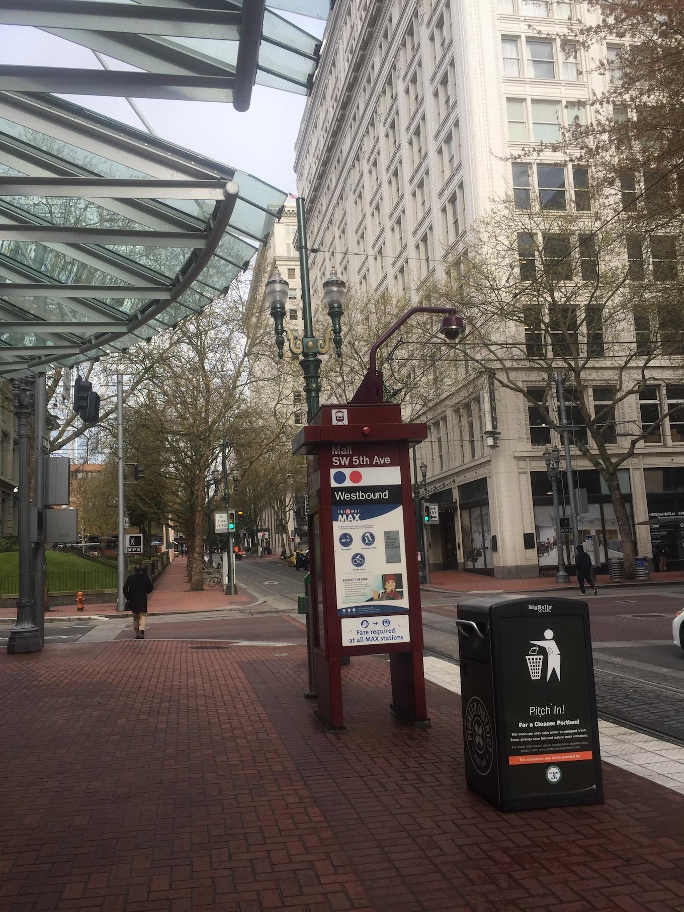 Downtown Portland Oregon www.thethreeyearexperiment.com