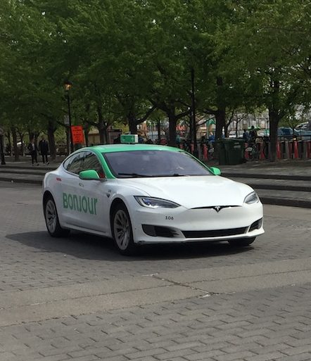 Tesla Taxi