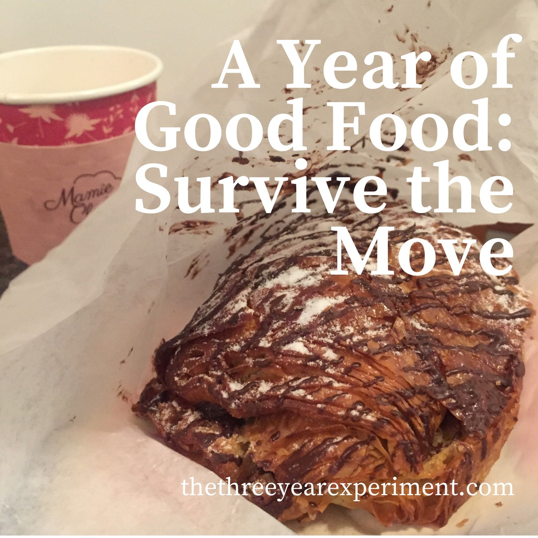 A Year of Good Food: Survive the Move www.thethreeyearexperiment.com