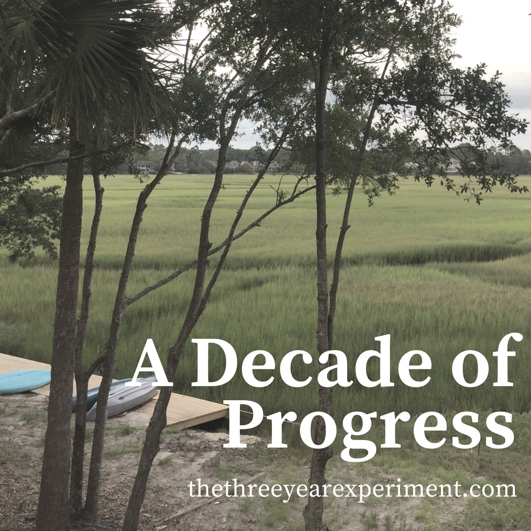 A Decade of Progress www.thethreeyearexperiment.com