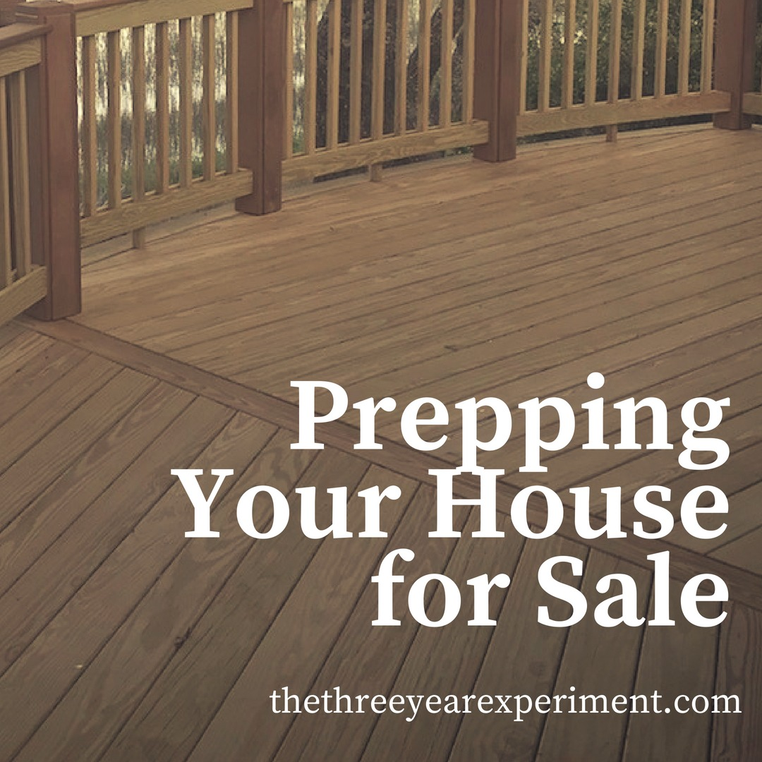 Prepping Your House for Sale