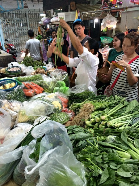 At a market in Bangkok--www.thethreeyearexperiment.com