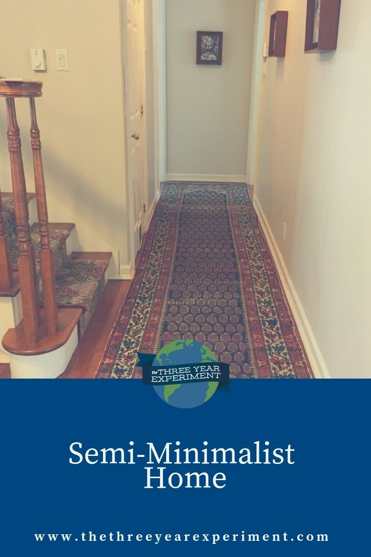 "Ready to minimize your home but not sure you're all about that stripped down bare look? Take a tour of our ""semi-minimalist"" home to see how we minimized without going overboard! @lauriethreeyear #semiminimalist #minimalist #minimalism #mariekondo #sparkjoy"