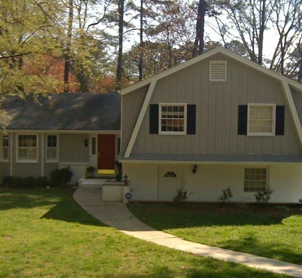 Atlanta house--www.thethreeyearexperiment.com