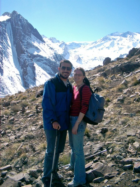 hiking in Chile--www.thethreeyearexperiment.com