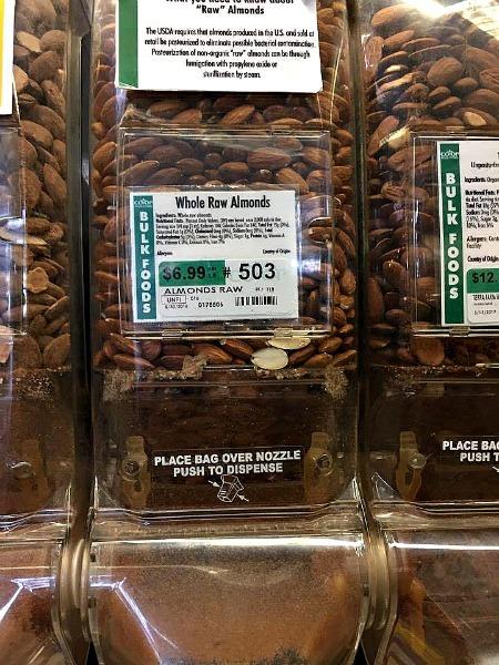 Almonds--www.thethreeyearexperiment.com