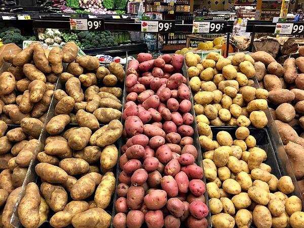 Zero waste potatoes--www.thethreeyearexperiment.com