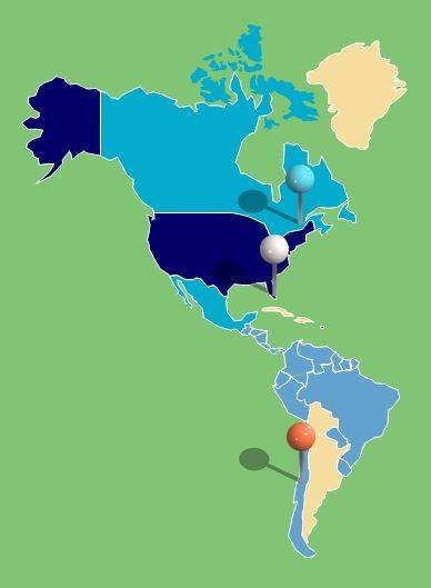 Americas--www.thethreeyearexperiment.com