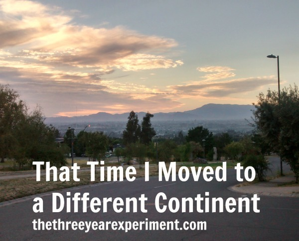 Moved Continents--www.thethreeyearexperiment.com