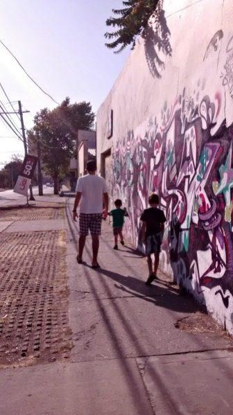 santiago graffiti--www.thethreeyearexperiment.com