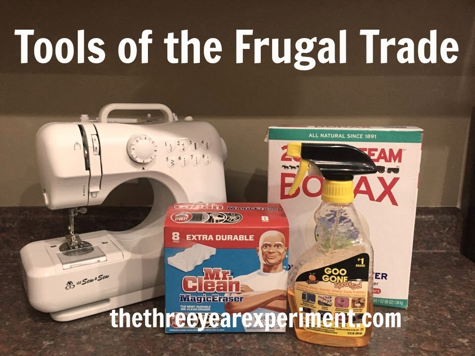 Frugal Tools--www.thethreeyearexperiment.com