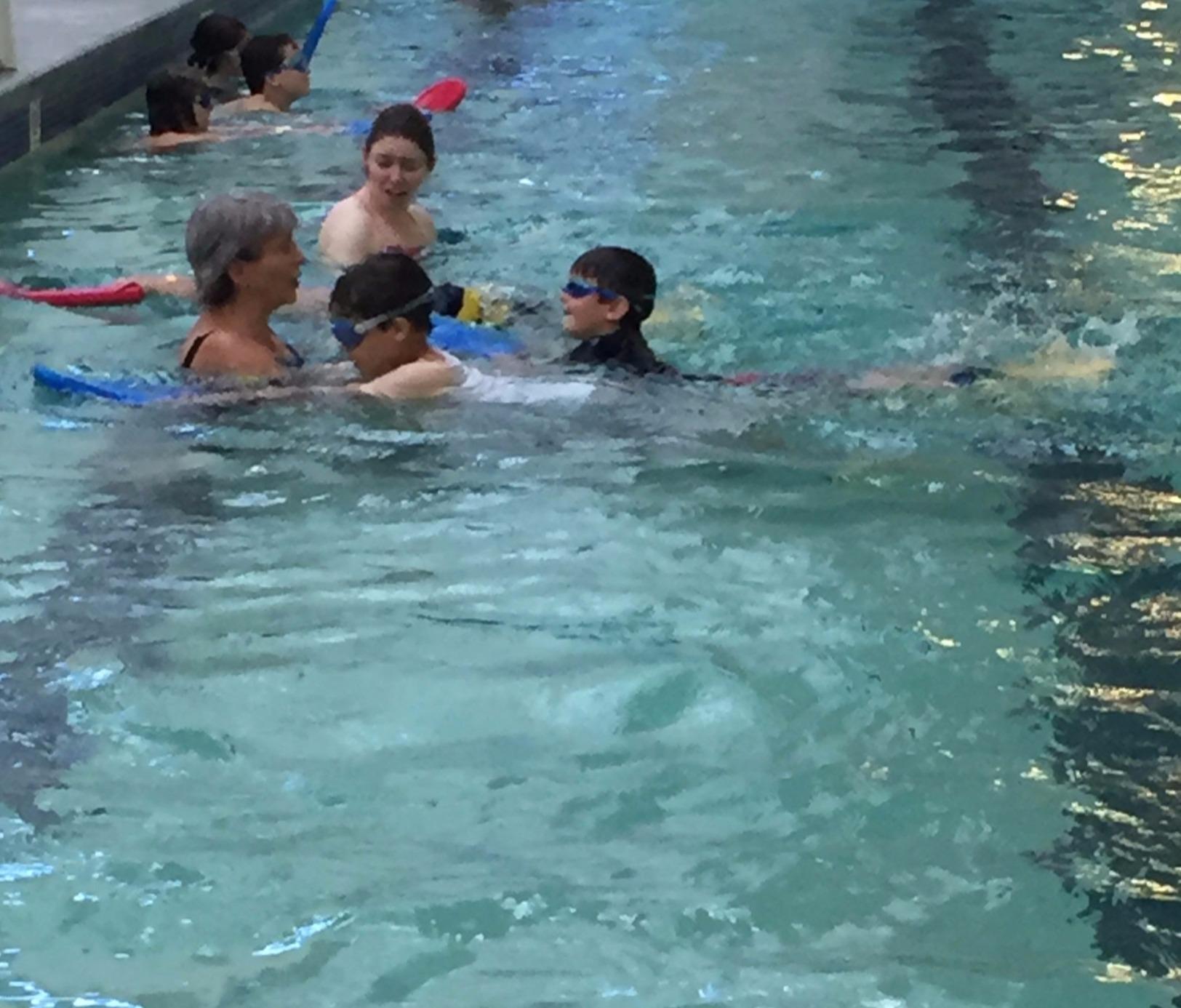 Swimming--www.thethreeyearexperiment.com
