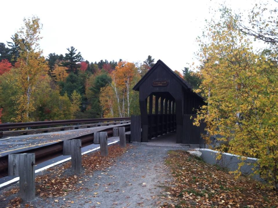 Covered bridge--www.thethreeyearexperiment.com