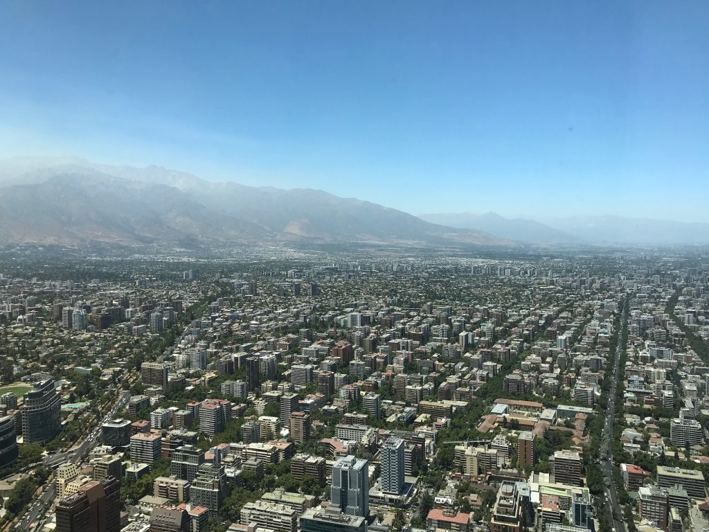View from Gran Torre--www.thethreeyearexperiment.com