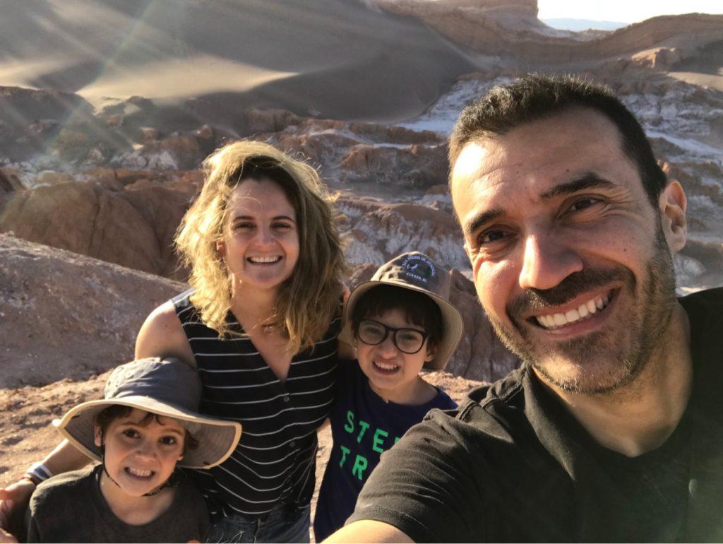 Atacama Family photo--www.thethreeyearexperiment.com