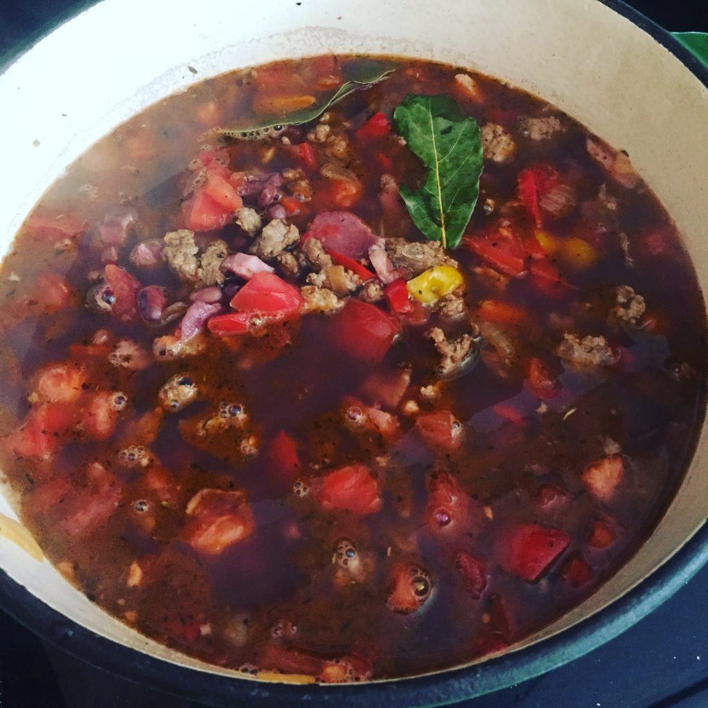 Red beans--www.thethreeyearexperiment.com