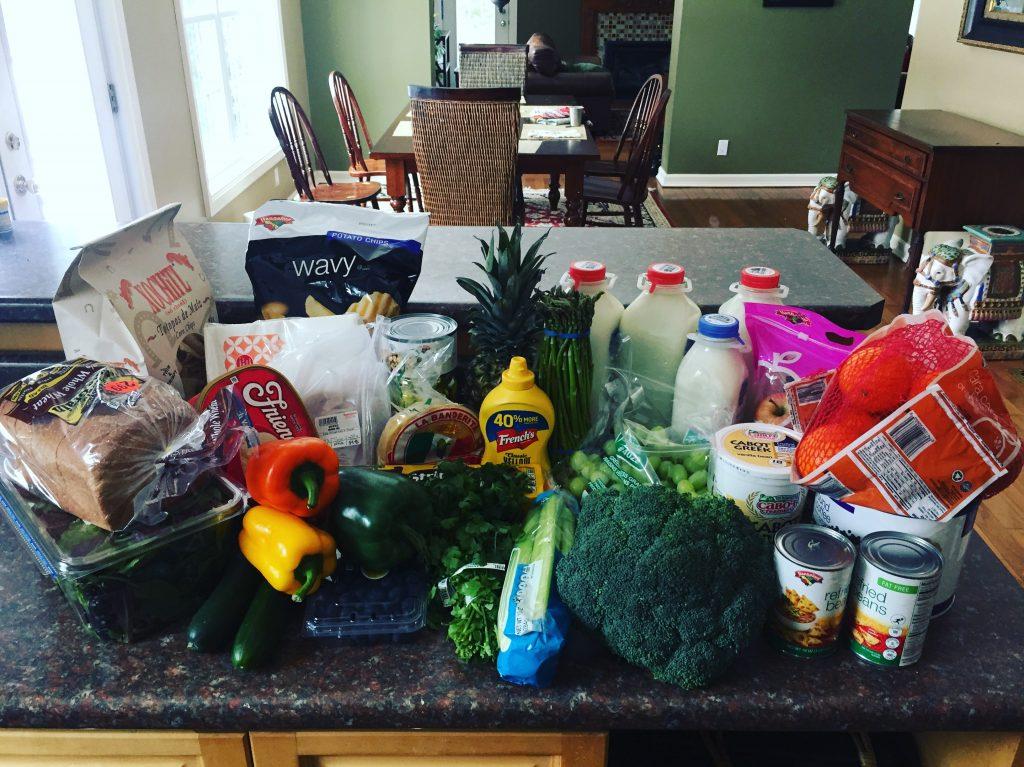 Groceries--www.thethreeyearexperiment.com