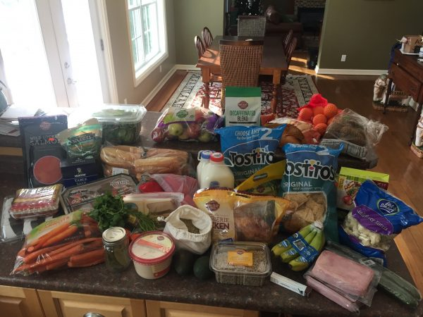 groceries week 5--www.thethreeyearexperiment.com