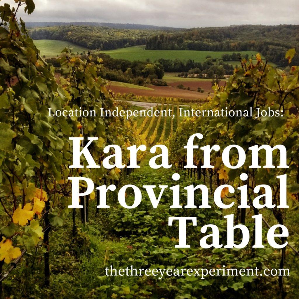 Kara Provincial Table winery Germany vineyards www.thethreeyearexperiment.com