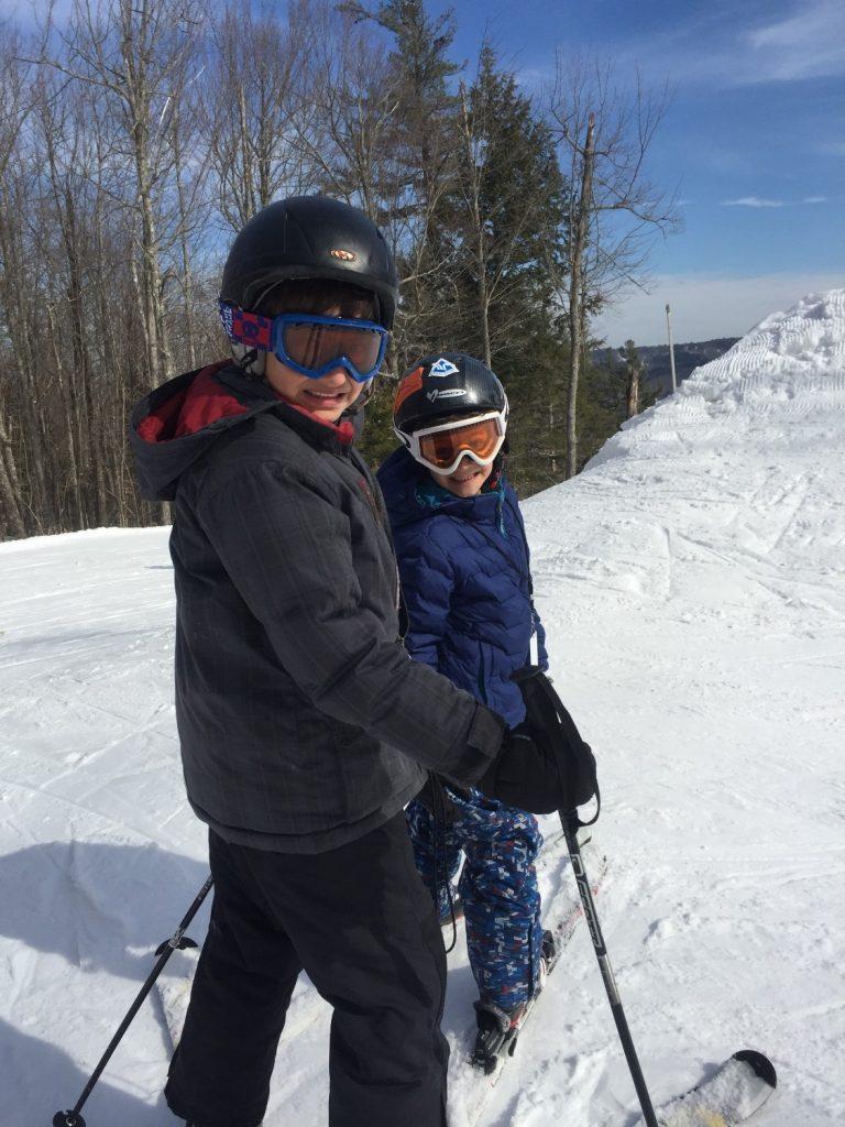 Skiing--www.thethreeyearexperiment.com
