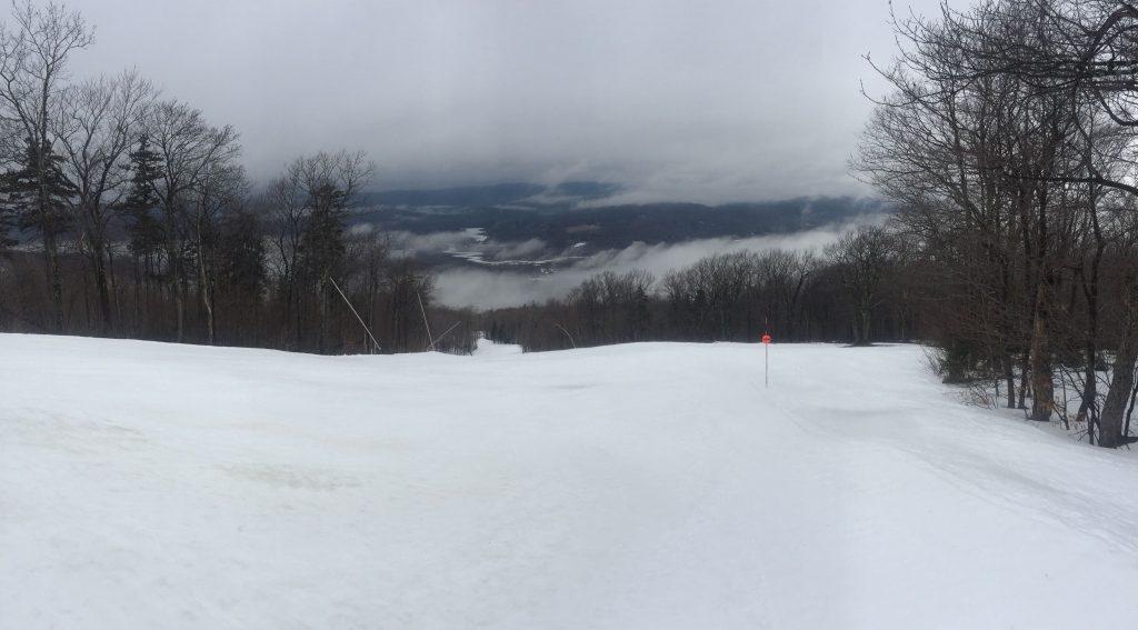 Ski mountain fog www.thethreeyearexperiment.com