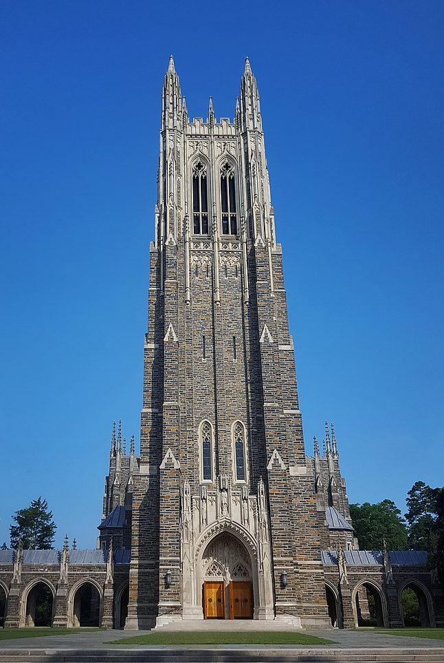 Duke University Chapel www.thethreeyearexperiment.com