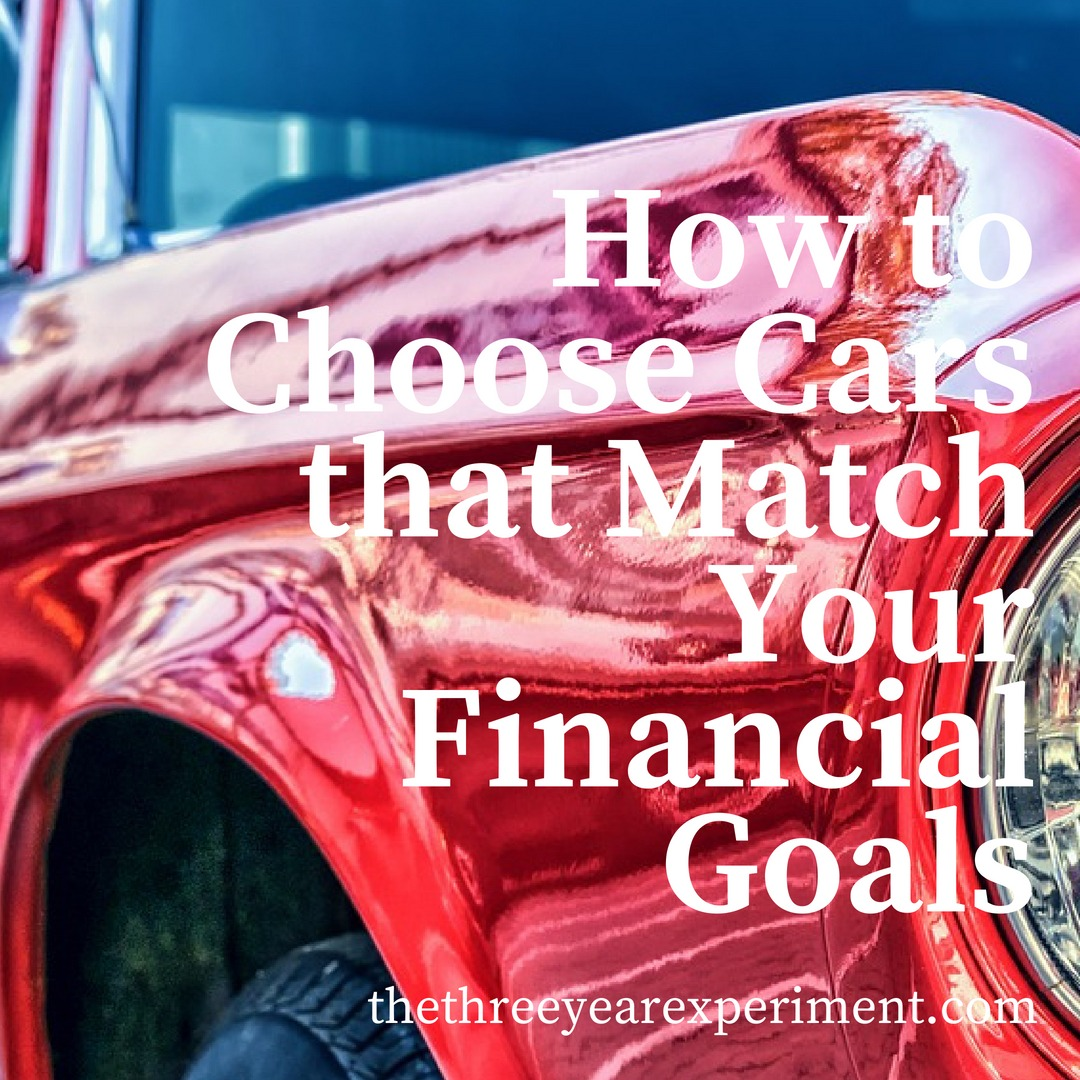 How to Choose Cars that Match Your Financial Goals www.thethreeyearexperiment.com